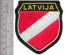 Germany & Latvia Foreign Legion Latvija Volunteers Shield Werhmacht Army 3