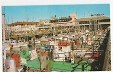 USA, Fisherman's Wharf, San Francisco Postcard, B234