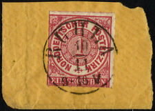 Nord Deutscher Bund, Definitive, Year 1868, Michel # 4, Used In Paper, (Su132)