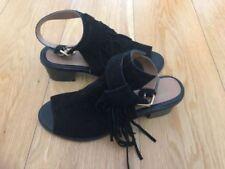 River Island Women's 100% Leather Peep Toe Heels for Women