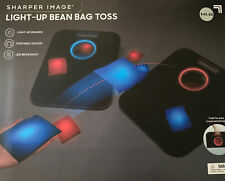 Shaper Image Bean Bag Toss Game Light-up Built-in Storage Portable