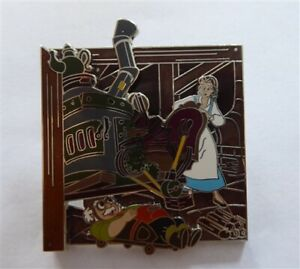 Disney Trading Pins 119301 Beauty and the Beast 25 Enchanted Years: Belle and Ma
