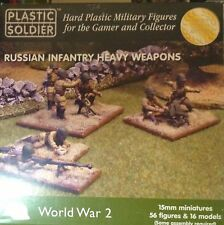 Soldatini in 15mm -RUSSIAN INFANTRY HEAVY WEAPONS - PLASTIC SOLDIERS WW2015004