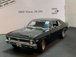 Danbury Mint 1969 Chevy Chevrolet Nova SS-396 1/24 Diecast New Opened For Pics