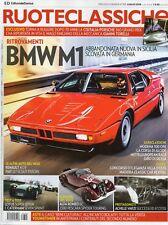 Ruoteclassiche 2018 355.BMW M1,Fiat 127 Scout Fissore,Renault4 CV Sport