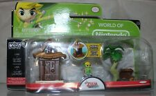 Legend of Zelda World of Nintendo Micro Land Link + Outset Island Jakks Toy