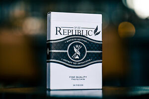 Republic No 3 Playing Cards Artists Edition Rare Limited Deck Ellusionist