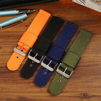 Durable Military Woven Nylon Watch Strap Wrist Watch Band Watchband 20mm 22mm