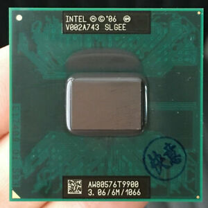 Intel Core 2 Duo T9900 3.06 GHz Dual-Core 6M 1066 Processor Socket P SLGEE CPU
