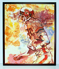 Abstract NFL Football Player 20 x 24 Oil Painting on Canvas w/ Custom Frame