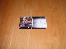Star Trek Insurrection 1998 Autograph card A14 Lieutenant Curtis
