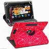"""New Universal 360 Folio Leather Case Cover For Android Tablet PC 7"""" 8"""" 9"""" 10"""""""