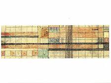 Postcard Frank Lloyd Wright Hillside Theater Curtain I Taliesin Wisconsin Mint