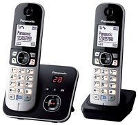 Panasonic KX-TG6822 Teléfono Fijo Digital con Contestador Manos Libres Agenda