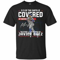 Javier Baez T-Shirt Javier Baez Chicago Cubs Tee Shirt Short Sleeve S-5XL
