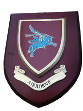 Airborne Pegasus Military Shield Wall Plaque