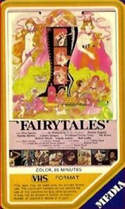 vhs Charles Band's FAIRY TALES 1978 Rare MEDIA HOME ENTERTAINMENT Don Sparks HTF