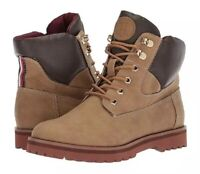 Womens•Tommy Hilfiger® Poma•Combat•Classic•Boots•Durable Traction•Cushioned•NEW!