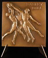 Medal Basketball Ball Sport Sc Morlon C 1930 113 G 52 mm with Box Medal