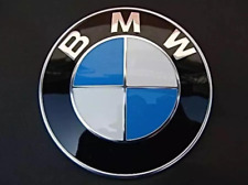 BMW Emblem 82mm Front Hood Rear Trunk Badge Roundel 2 Pins For BMW E39 E36 E46