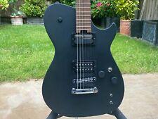 Manson MBM-1 Guitar With Sustainiac Sustainer Modified Mod Matt Bellamy Black