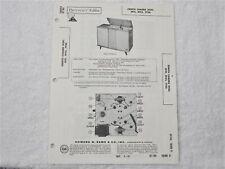 Sams Photofact Repair Manual Set 569 #16 Zenith mod.2F30,3F21,3F23 / 1962