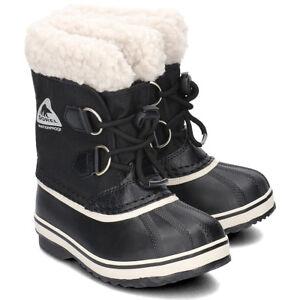 SOREL Toddler's YOOT PAC™ Nylon Boot NEW AUTHENTIC Black NC1879-010