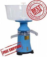 NOUVEAU!!! Lait Crème électrique Séparateur centrifuge machine plastique 100L/H Worldwide