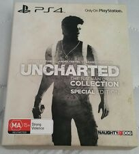 PS4 - Uncharted The Nathan Drake Collection Special Edition - New