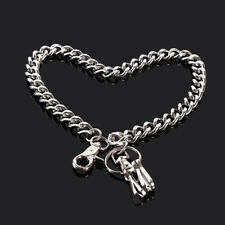 Men Wallet Chains Silver Metal Key Chain Rock Punk Biker Accessories S