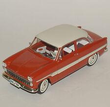 """Revell Rarität Ford """"Streifen-Taunus"""" 12m Coupe in rot lackiert, OVP, 1:18, K003"""