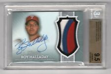 2017 Topps Dynasty Roy Halladay Patch Autograph #10/10 BGS 9.5 Phillies Auto= 10
