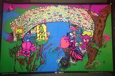 Vintage The Trolls 1971 Poster Black Light Poster ORIGINAL - P49