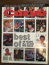 Anniversary Issue, Indigo Girls, Melissa Etheridge, CURVE Lesbian mag. May 2000