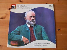 GIULINI  TCHAIKOVSKY`s PATHETIQUE SYMPHONY Original  1961 UK LP SXLP 30208