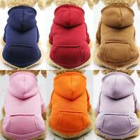 Pet Dog Winter Apparel Puppy Cat Sweater Hoodie Coat Jacket Costume Pets Clothes
