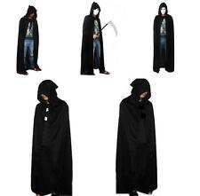 Cloak Adult Hooded Cape Medieval Renaissance Halloween Costume Fancy Dress FI
