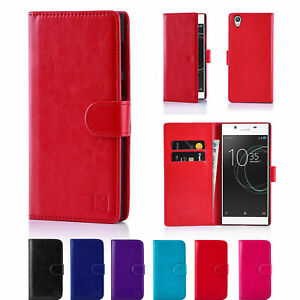 For Various Sony Xperia Mobile Phones Premium Leather Wallet Cover Book Case