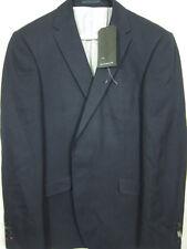 NWT $975 Bespoken Dark Navy Blue Single-Button Blazer Sport Coat 40R