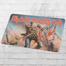 Logoshirt Frühstücksbrettchen Iron Maiden Eddy Flag bunt Schneid-Brett