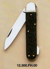 "HUBERTUS GERMAN HUNTING POCKET FOLDING KNIFE 3.15"" BLADE / IMITATION of STAG"