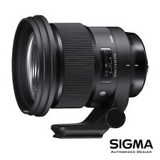 Sigma 105mm f/1.4 DG HSM Art Lens for Nikon F *OPEN BOX - DEMO* *USA AUTHORIZED*