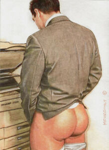 PRINT of Artwork Drawing Painting Male Gay Interest MCicconneT ~ FRESH TAKE