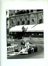 Alan Jones Williams FW06 Monaco Grand Prix 1978 Signed Photograph