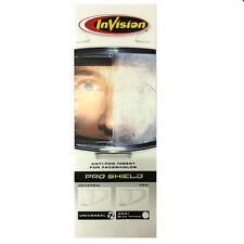 InVision Pro Shield Universal Clear Anti Fog Adhesive Insert FOG FREE VISION