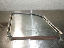 VW Rear Quarter Window Glass Convertable Bug 1965 - 1979 Vintage Volkswagen