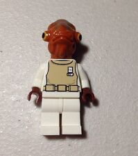 Lego ADMIRAL ACKBAR MINIFIGURE 7754 Star Wars Minifig New Never Played With