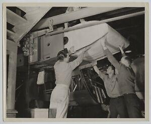 Vintage 1940s Aviation Manufacturing Douglas Bomber Fuel Tank Install Photo #5