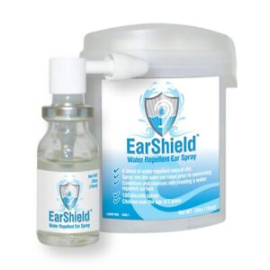 EarShield Water Repellent Ear Spray for Swimmers, Scuba Divers