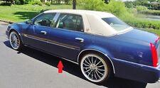 Cadillac DEVILLE DTS DHS 2003 2004 2005!! Chrome Rocker Panel Trim!!